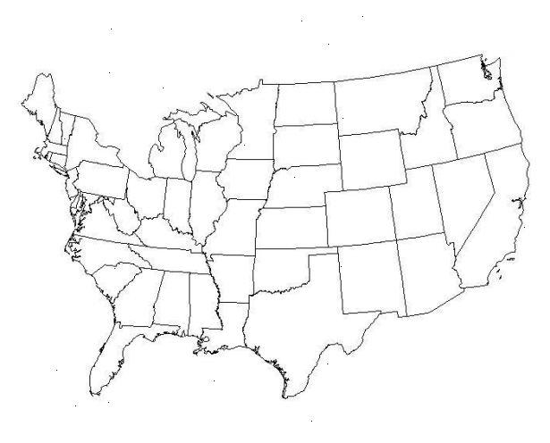 tegne i kart Hvordan tegne et kart over USA – WKONO